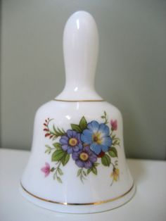 Ashleydale Bell Fine Bone China England Floral by CopperLocks