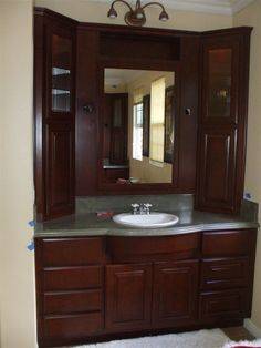 Custom Bathroom Vanities Naperville top double bathroom vanity with attached tall cabinet vanity amp