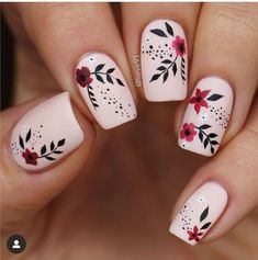 Best Acrylic Nails, Cute Acrylic Nails, Acrylic Nail Designs, Gel Nails, Nail Polish, Coffin Nails, Stiletto Nails, Acrylic Art, Flower Nail Designs