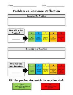Describing And Solving Problems Emotional Regulation Activities