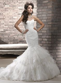 Adalee Bridal Gown...this is bad bc I already have my dress..but I just fell in love with this lol :)
