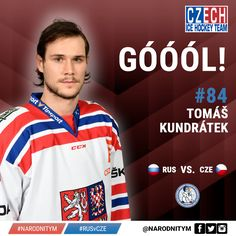 84  Tomas Kundratek  G   4-2 W  CZE vs RUS Channel one Cup title Moscow 2015  https://www.facebook.com/narodnitym/photos/a.294343030740917.1073741828.292813624227191/523135467861671/?type=3
