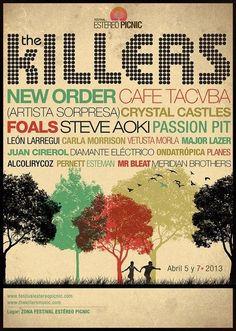 No había visto bien el cartel del festival Estéreo Picnic. New Order, Foals, Vetusta Morla