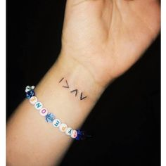 """My new little addition! ""I am greater than my highs and lows""  #highsandlows #diabetestattoo #diabetesawareness"""