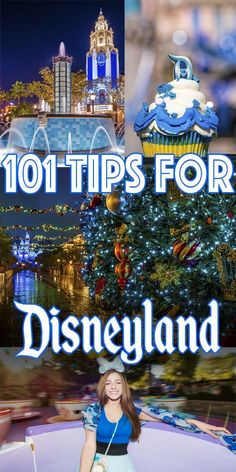 """Don't want to feel like a newbie in the """"locals parks"""" of Disneyland and Disney California Adventure? We have tips (101, to be exact) that will help you do Disneyland like a pro. These will help you save money and time, and other hacks are just random oddities that will enhance the experience based on our time as"""
