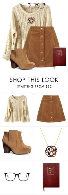 """""""Untitled #85"""" by texprep ❤ liked on Polyvore featuring Topshop, H&M, BaubleBar, Victoria Beckham, Sloane Stationery, women's clothing, women's fashion, women, female and woman"""