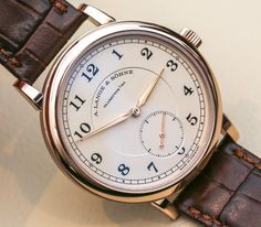 """A. Lange & Söhne 1815 '200th Anniversary F.A. Lange' Watch Hands-On - by Ariel Adams - on aBlogtoWatch.com """"About the time this article is publishing, A. Lange & Söhne will be putting the final touches on their special celebration event in Dresden and Glashutte, Germany, for the 200th anniversary of the birth of founder Ferdinand Adolph Lange. To commemorate, they are launching the A. Lange & Söhne 1815 '200th Anniversary F. A. Lange' watch..."""""""