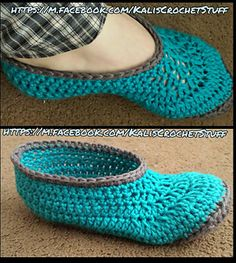 Ravelry: Ladies Spa Slippers pattern by Kelli Brough Crochet Shoes, Crochet Slippers, Cotton Crochet, Knit Crochet, Peaches And Cream Yarn, Knitting Patterns, Crochet Patterns, Spa Slippers, Pattern Library