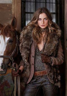winter faux fur
