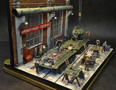 Tank factory - Ural 1/35 Scale Model Diorama