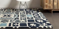 """Come check out Chandra's designer line """"Parson Gray"""" including this great rug. (pictured prod. code PAR31103) @ rugshd.com"""