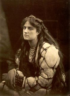"""""""Hypatia"""", 1867. Photo by Julia Margaret Cameron. One of the greatest portraitists in the history of photography, Julia Margaret Cameron (1815–1879) blended an unorthodox technique, a deeply spiritual sensibility, and a Pre- Raphaelite–inflected aesthetic to create a gallery of vivid portraits and a mirror of the Victorian soul."""