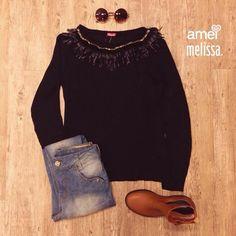 Para dias frios ❤️⛄️ #lojaamei #frio #melissa #jeans