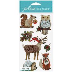 Jolees Boutique Jolee's Boutique Stickers, Woodland Animals