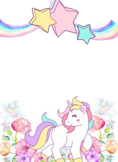 CONVITE UNICÓRNIOS  Invitación del cumpleaños del unicornio #Unicórnio #unicorn #fiiestaunicornio #festaunicornio #decoraçãounicórnio #UnicornBirthdayInvitation  #UnicornPartyInvitation #RainbowBirthdayInvitation #UnicornBirthday #UnicornInvitePRINTABLE