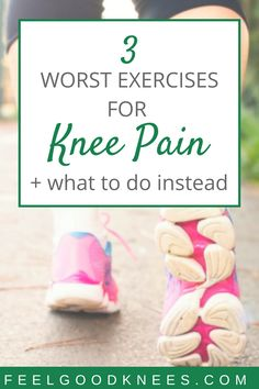 3 Common But Harmful Exercises For Your Knees Knee Pain Relief, Arthritis Pain Relief, Natural Pain Relief, Arthritis Remedies, Arthritis Treatment, Knee Swelling, Swollen Knee, Knee Osteoarthritis, Knee Arthritis Exercises