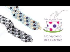 Honeycomb Bee Bracelet | Take a Make Break with Beads Direct