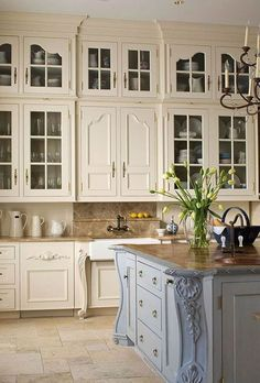New Kitchen Cabinets Styles French Country Dining Rooms 52 Ideas Küchen Design, Home Design, Layout Design, Design Ideas, Design Styles, Glass Design, French Country Dining Room, French Country Kitchens, Country French