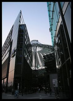 Berlin - The entrance of the Sony Center