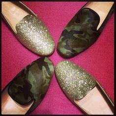 Military and Gold! Vem conhecer os nossos Pretty Loafers ❤❤ #prettyloafers #prettyballerinas #prettyballerinasbrasil
