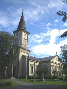 Church of Sotkamo - Sotkamo – Wikipedia Finland Mansions, House Styles, Home Decor, Finland, Mansion Houses, Homemade Home Decor, Manor Houses, Fancy Houses, Decoration Home