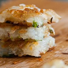 Thomas Keller's Ad Hoc at Home Scallion Potato Cake Recipe