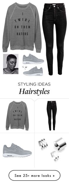 """Natural Hair Show"" by desimates08 on Polyvore featuring NIKE"