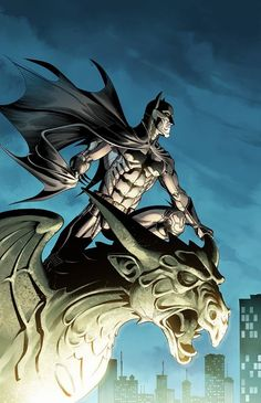 Batman by Mike S. Miller, colours by Mohan and Nanjan *