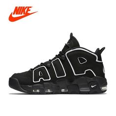 competitive price 32921 8db92 New Authentic Nike Air More Uptempo Men s Breathable Basketball Sports  Sneakers  fashion  clothing