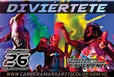 #EventosEnLaIsla  @Regrann from @margaritacolorexperience -  La meta es pasarla genial en #MargaritaColorExperience2016  Por primera vez en #Margarita #Los5KMásFelicesdelPlaneta  Inscripciones en http://ift.tt/1Qk0Der  #CarreraColorMargarita #RunningenlaIsla #CarreradeColores #RunnersdeMargarita #5K #Carrera #Caminata #Diversión #MargaritaColor #CarreraColor #ColorExperience #EventosenMargarita #EventosenlaIsla #islademargarita #Mgta #Junio #2016 #Impelable #Regrann