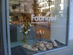 Fabrique Stenugnsbageri, can be found all over town. They have the best Levain bred and cinnamon buns to die for!