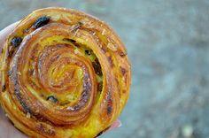 Escargot from Au Levain du Marais, Paris.  Apples Under My Bed: A Pastry Tale