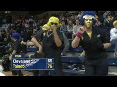 Toledo Men's Basketball Bests Cleveland State, 76-65 - YouTube