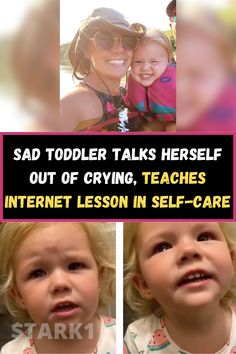 As rewarding as parenting is, it's not always butterflies and rainbows. There's plenty of tears and boo-boos along the way that parents have to handle. But parents are coming up with uplifting ways to diffuse all of those toddler tantrums. An incredible mom named Shelbee Haderer from McCloud, Oklahoma found the perfect way to calm her two-year-old Brilee down.