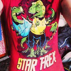 T-Shirt Tuesday : Star T-Rex!