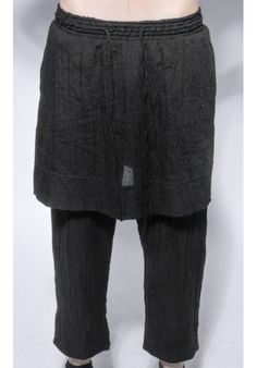 "DAVID ROAD ""LIGHT COTTON SKIRT OVER TROUSERS"" 100% COTTON : 270 € -30% >> 189 €"