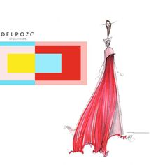 Interaction of Color | Inspired by @officialdelpozo & @josepfontc #fashionillustration #quicksketch #art #delpozo #josepfont #nyfw #geometric #shapes #runway #color #structure #josefalbers #artist #illustrator #thedailyscribble #bestofNYFW