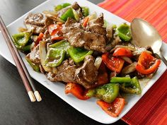 Chinese Pepper Steak (Stir-Fried Beef with Onions, Peppers, and Black Pepper Sauce) | Serious Eats : Recipes