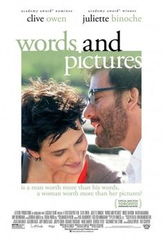 WORDS AND PICTURES - 2014 - Orig 27x40 D/S movie poster - CLIVE OWEN - Indy Film