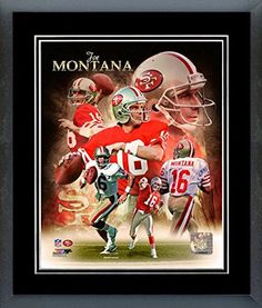 Joe Montana Framed With double black matting Ready To Hang- Awesome & Beautiful-Must For A Championship Team Fan! All Teams Players Available-Please Go Through Description & Mention In Gift Message If Need A different Team-Choose Size Option! (16 x 20 inches Joe Montana framed print) Art and More, Davenport, IA http://www.amazon.com/dp/B00NKGDQOS/ref=cm_sw_r_pi_dp_DEhuub02RV2JC