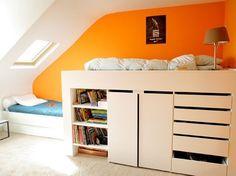 Lit Mezzanine Nidi | altillos | Pinterest | Bedrooms and Room