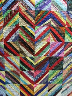 Sew We Quilt: Stringing You Along Tutorial