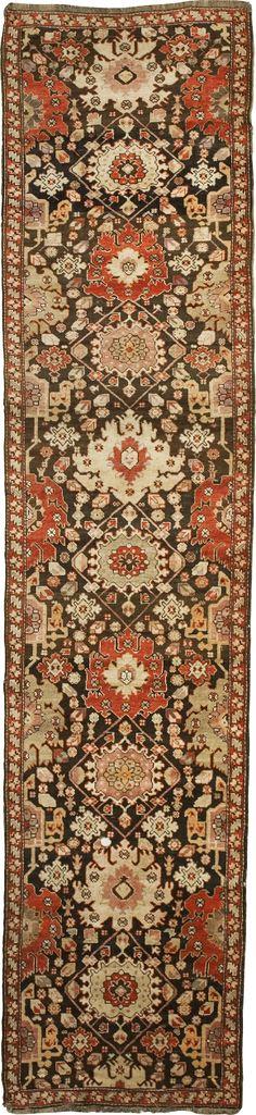 Runner Floral  - Armenian Carpets Size 470x110 Origin: Artsakh