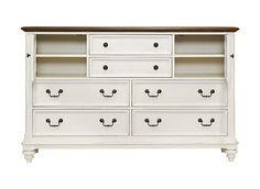 Alternate Newport Dresser with Mirror Image