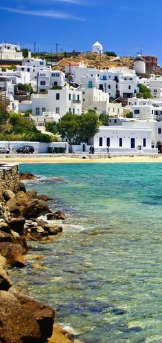 Mykonos near  Xenia  Hotel also  the  house  from ex King Paul  HomeThe Greek Isles