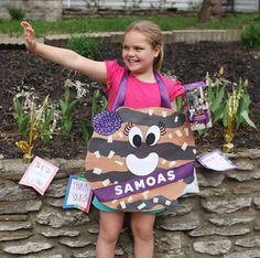 Activities for girls   Little Brownie Bakers Some cool stuff - including make your own cookie costume. J