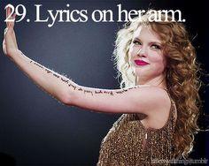 Little Taylor Swift things.