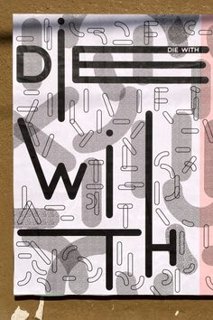 "Désha Nujsongsinn, Ficciones Typografika 580 (24""x36""). Installed on July 21, 2014. More on Ficciones Typografika."