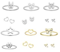 Getting bear ring for Christmas yay Jewelry Box, Jewelery, Ring Bear, Rings N Things, Karen Walker, Bangles, Bracelets, Bling Bling, Passion For Fashion