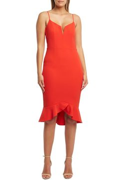 82543fc0660 Free shipping and returns on Bardot Kristen Flounce Dress at Nordstrom.com.  A fluttery